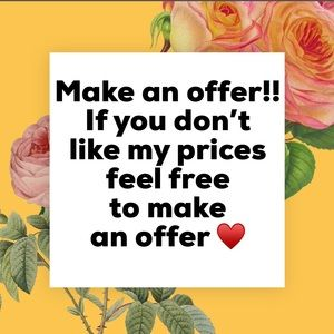 Other - Make an offer on my items ♥️